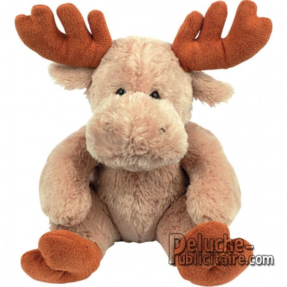 Purchase Elk plush 28 cm. Plush to customize.