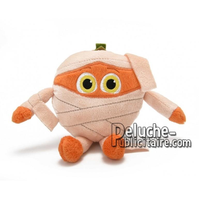 Achat peluche mommie orange orange 10cm. Peluche personnalisée.