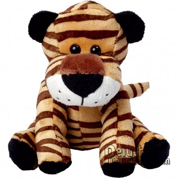 Achat Peluche Tigre 15 cm. Peluche à Personnaliser.