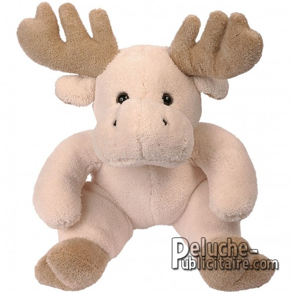 Purchase Elk plush 30 cm.Plush to customize.