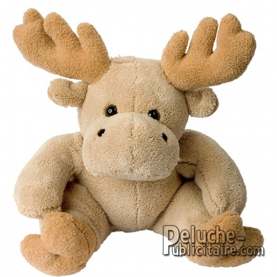 Purchase Elk plush 30 cm. Plush to customize.