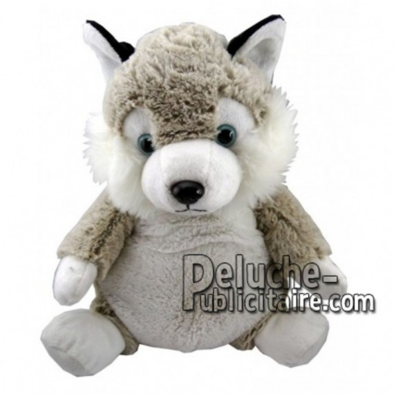 Buy White husky dog plush 30cm. Personalized Plush Toy.