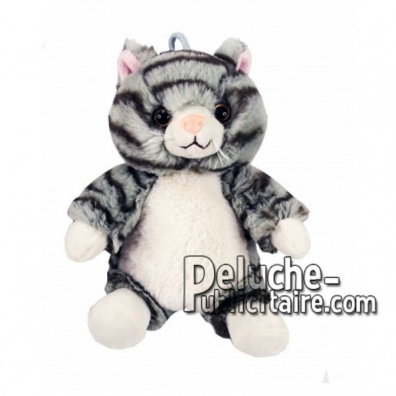 Buy White cat plush 30cm. Personalized Plush Toy.