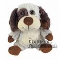 Buy beige dog plush 30cm. Personalized Plush Toy.
