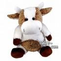Buy White cow plush 18cm. Personalized Plush Toy.