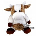 Buy White cow plush 30cm. Personalized Plush Toy.