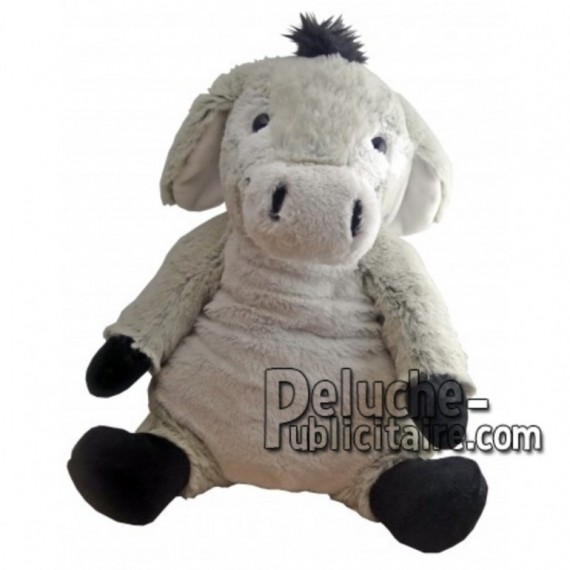 Buy Grey donkey plush 30cm. Personalized Plush Toy.