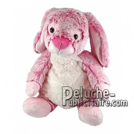 Buy pink rabbit plush 18cm. Personalized Plush Toy.