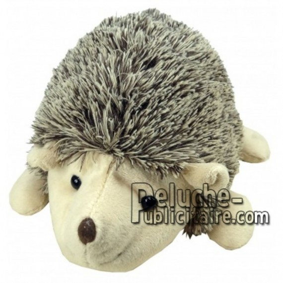 Buy Brown hedgehog plush 18cm. Personalized Plush Toy.