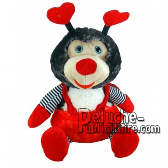 Buy red ladybug plush 18cm. Personalized Plush Toy.
