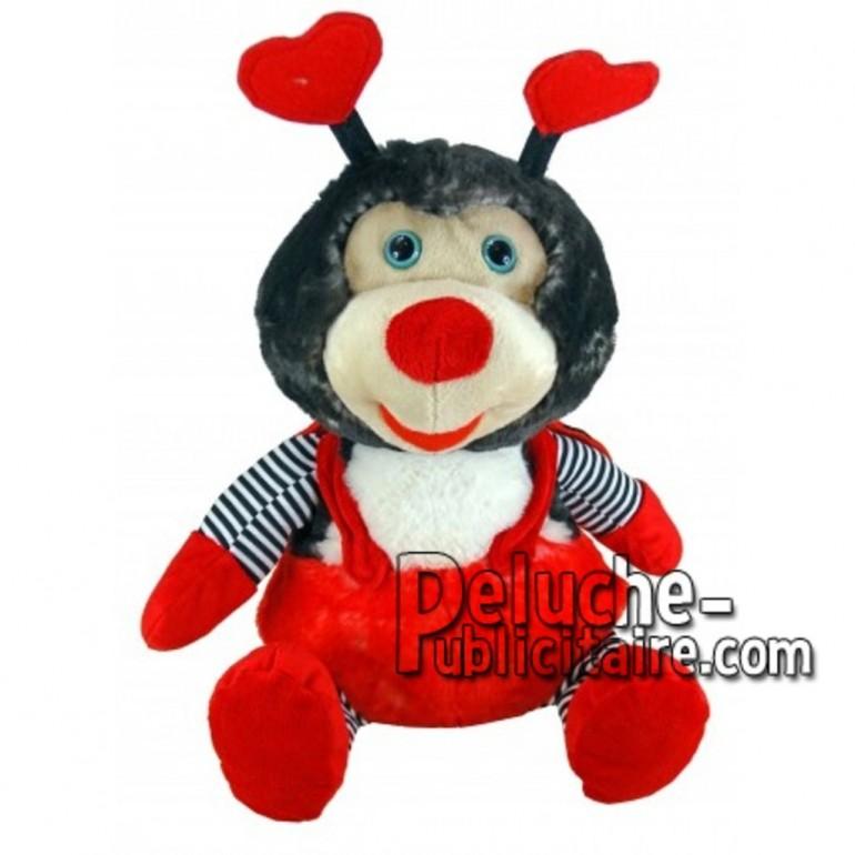 Buy red ladybug plush 18cm. Personalized Plush Toy.
