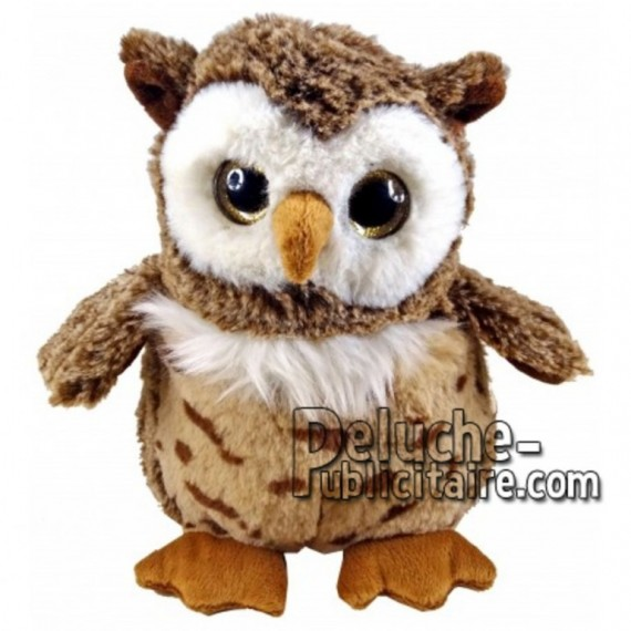 Buy Brown owl plush 18cm. Personalized Plush Toy.