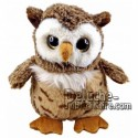 Buy Brown owl plush 30cm. Personalized Plush Toy.