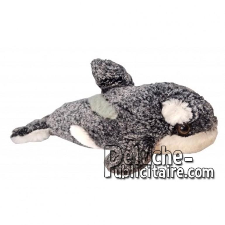 Achat peluche orque noir cm. Peluche personnalisée.