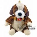 Buy Brown st bernard dog plush 18cm. Personalized Plush Toy.