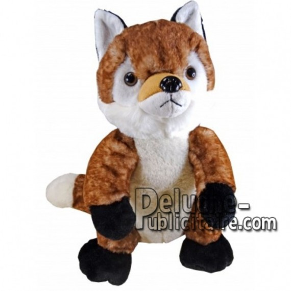 Buy orange fox plush 30cm. Personalized Plush Toy.