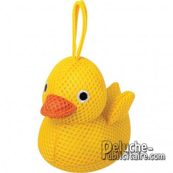 Buy Animals Sponge Duck 13 cm.Plush to customize.