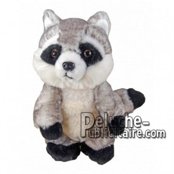 Buy Grey raccoon plush 18cm. Personalized Plush Toy.