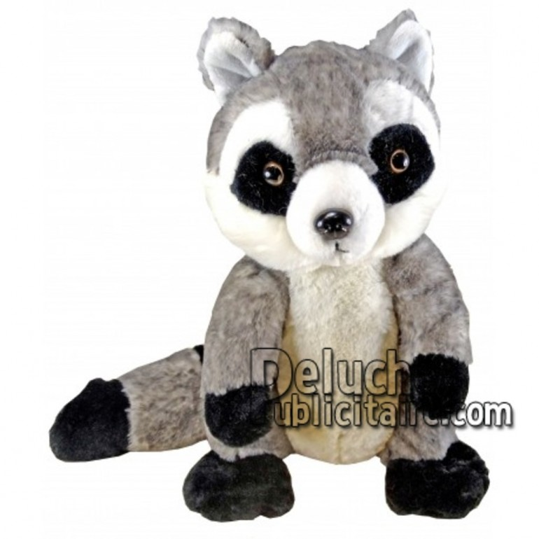 Buy Grey raccoon plush 30cm. Personalized Plush Toy.