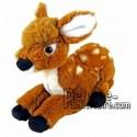 Buy orange fawn (bambi) plush 30cm. Personalized Plush Toy.
