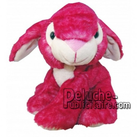 Buy pink rabbit plush 18cm. Personalized Plush Toy.