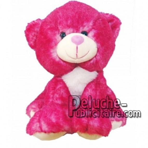 Buy pink bear plush 18cm. Personalized Plush Toy.