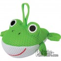 Buy Animals Sponge Frog 13 cm.Plush to customize.