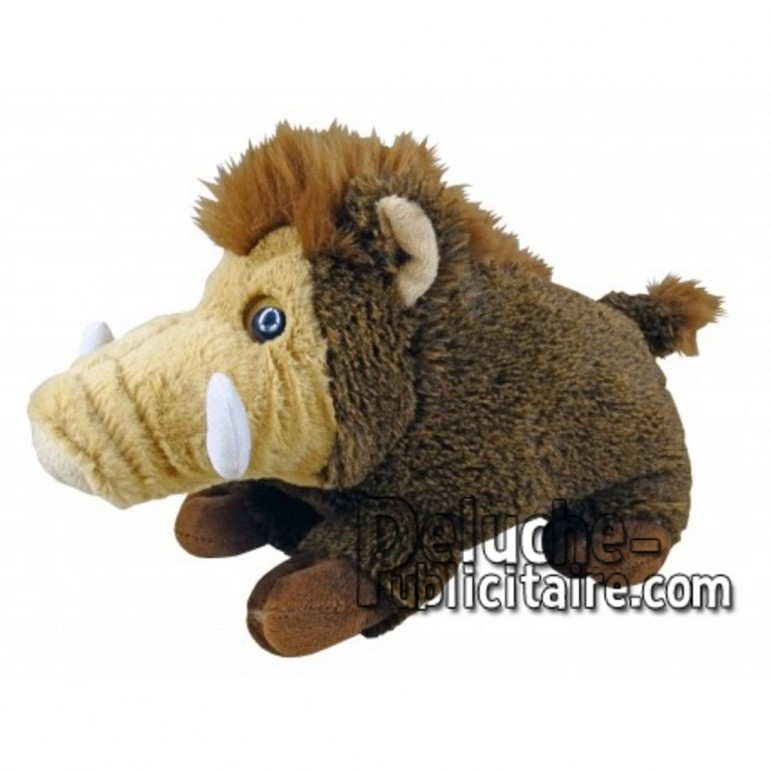 Buy Brown Boar plush 18cm. Personalized Plush Toy.
