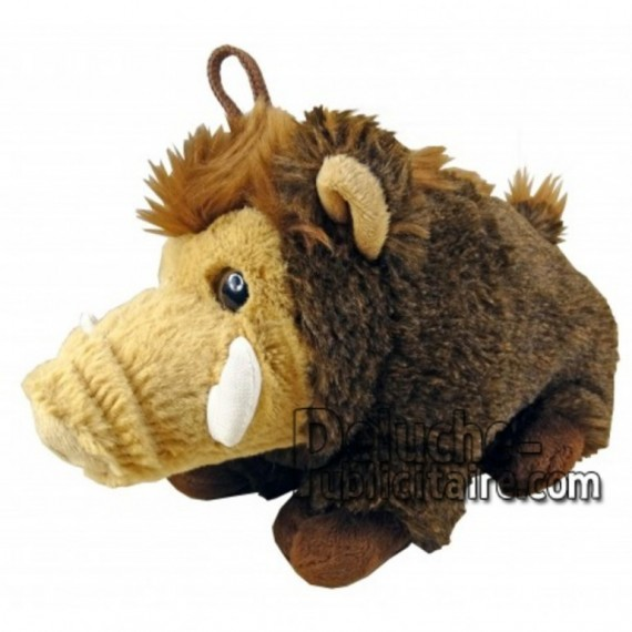 Buy Brown Boar plush 30cm. Personalized Plush Toy.