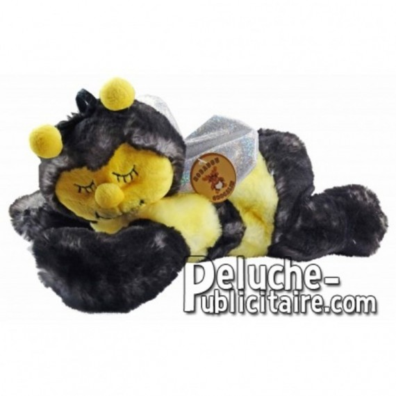 Buy yellow lying bee plush 29cm. Personalized Plush Toy.