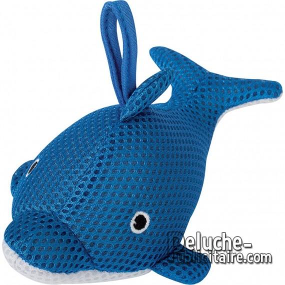 Buy Animals Sponge Dauphin 13 cm.Plush to customize.