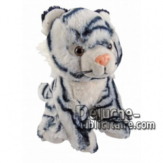 Buy White tiger plush 18cm. Personalized Plush Toy.