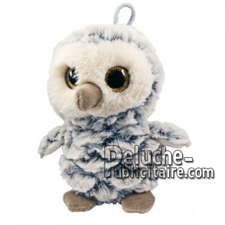 Buy White owl plush 18cm. Personalized Plush Toy.