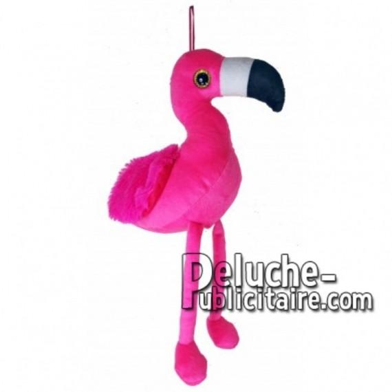 Buy pink Flamingo plush 38cm. Personalized Plush Toy.