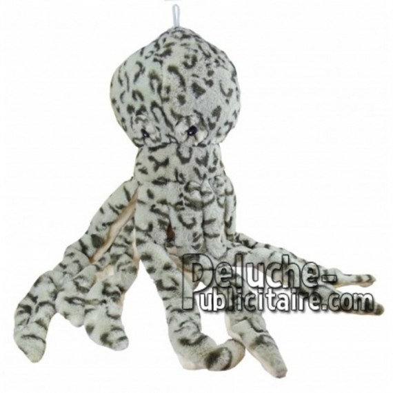 Buy Grey octopus plush 55cm. Personalized Plush Toy.