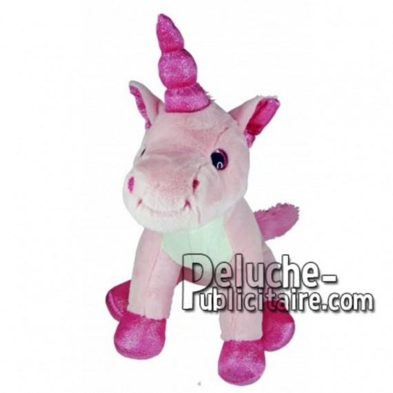 Buy pink unicorn plush 18cm. Personalized Plush Toy.