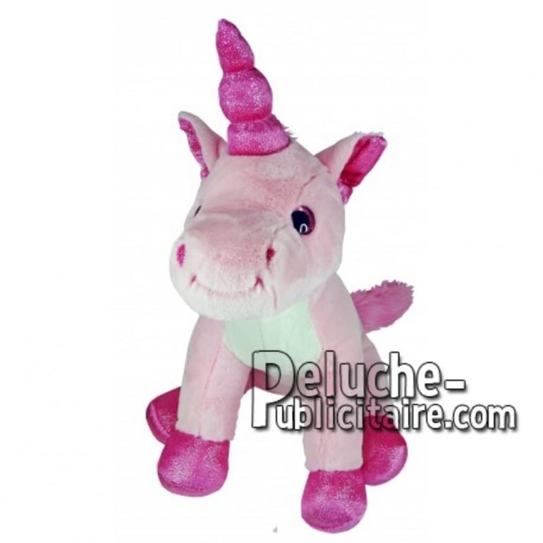 Buy pink unicorn plush 30cm. Personalized Plush Toy.