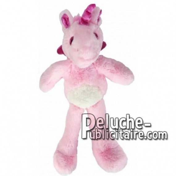 Buy pink unicorn plush 35cm. Personalized Plush Toy.