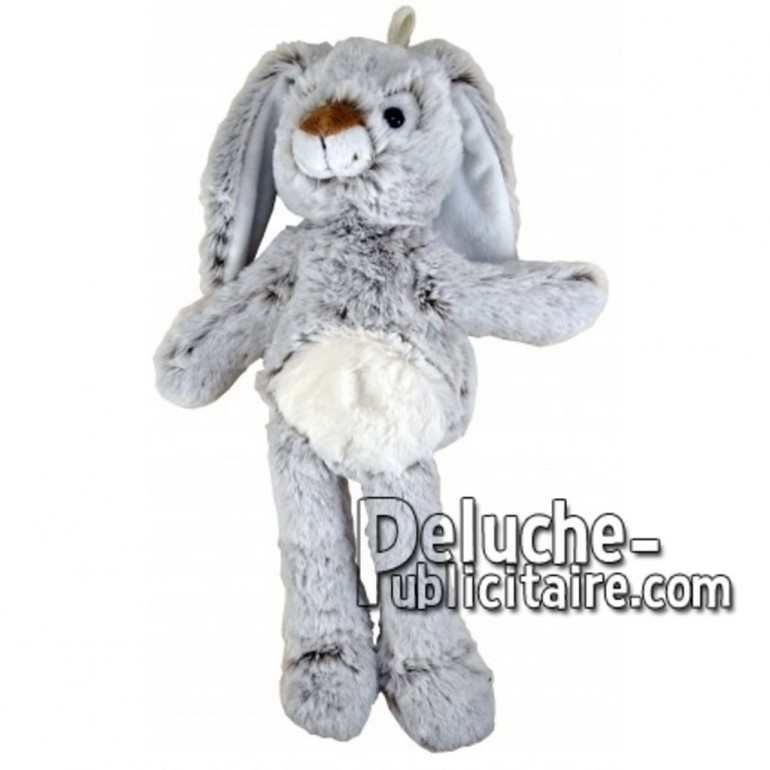 Buy Grey rabbit plush 35cm. Personalized Plush Toy.