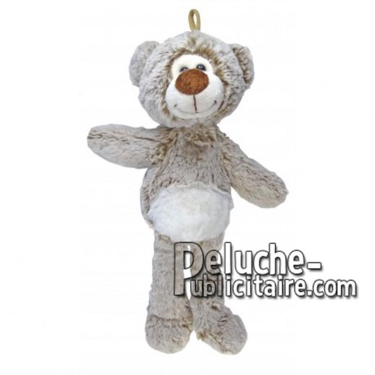 Buy Brown bear plush 35cm. Personalized Plush Toy.