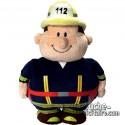 Purchase Stuffed Mr. Bert Fireman 18 cm.Plush to customize.