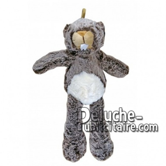 Buy Brown marmot plush 35cm. Personalized Plush Toy.