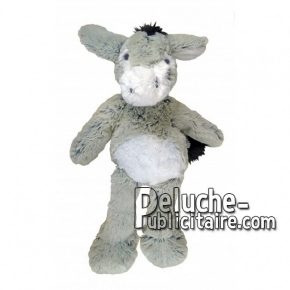 Buy Grey donkey plush 35cm. Personalized Plush Toy.