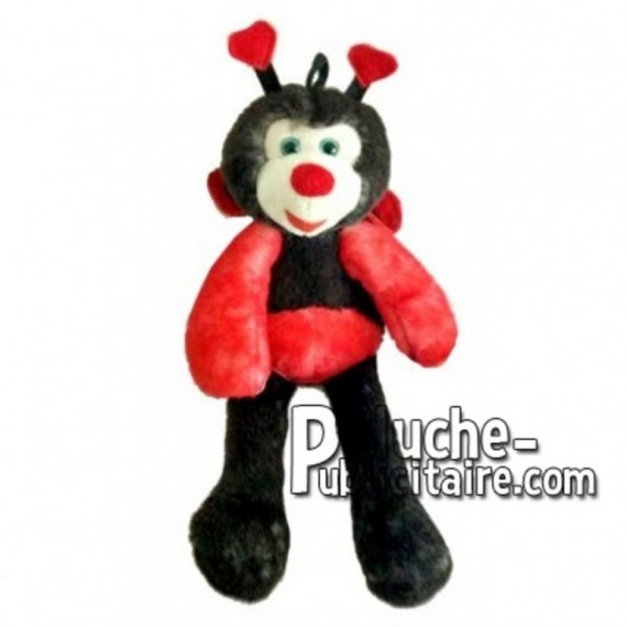 Buy red ladybug plush 35cm. Personalized Plush Toy.