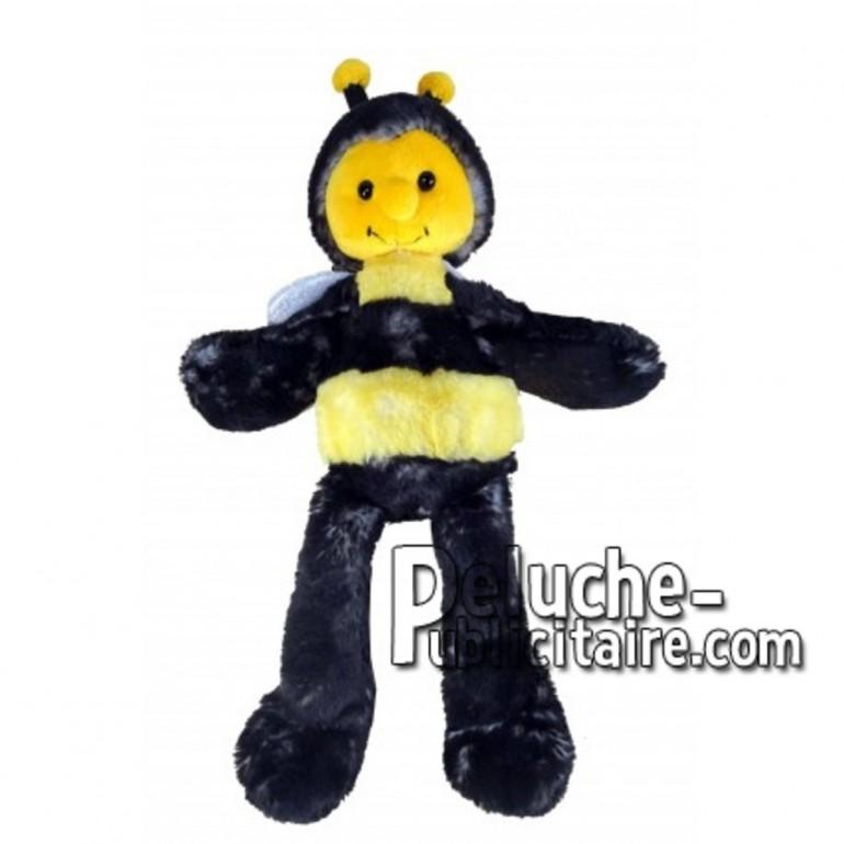Achat peluche abeille jaune 35cm. Peluche personnalisée.