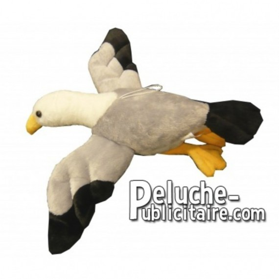 Buy Grey seagull plush 53cm. Personalized Plush Toy.