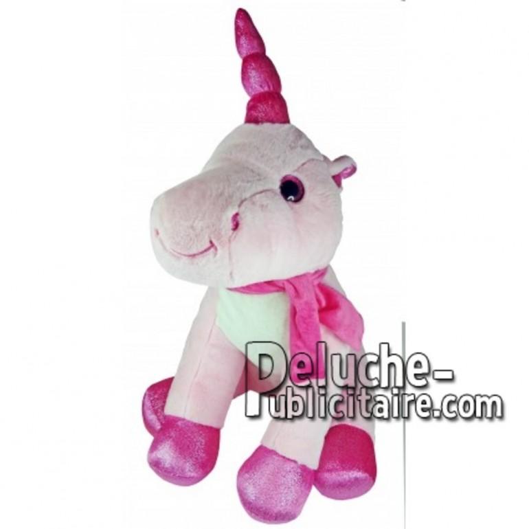 Buy pink unicorn plush 55cm. Personalized Plush Toy.