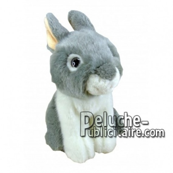 Buy Grey rabbit plush 18cm. Personalized Plush Toy.