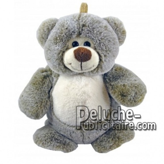 Buy Brown bear plush 25cm. Personalized Plush Toy.