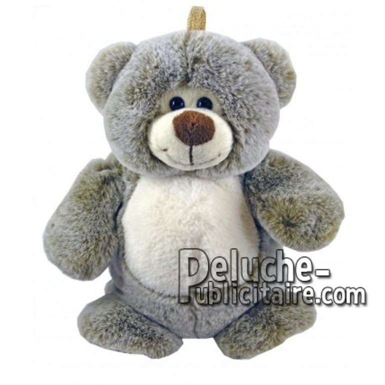 Buy Brown bear plush 25cm. Personalized Plush Toy.